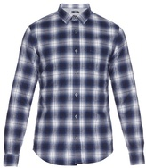 Vince Plaid Cotton-flannel Shirt