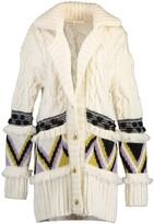 Thumbnail for your product : Hayley Menzies Portobello Tiger Merino Jacquard Long Cardigan