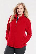 Lands' End Women's Plus Size Polartec Aircore 200 Jacket-Blackberry Knots