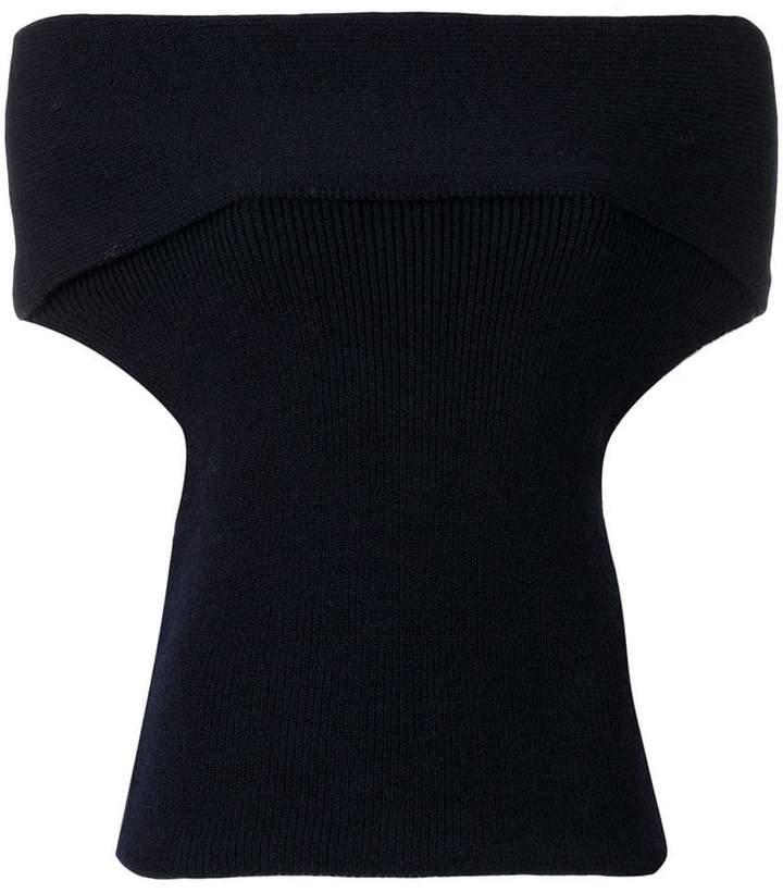 Aviu off-shoulder cropped top