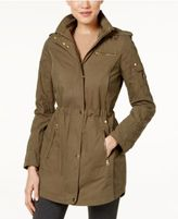 Laundry by Shelli Segal Hooded Quilted-Sleeve Parka