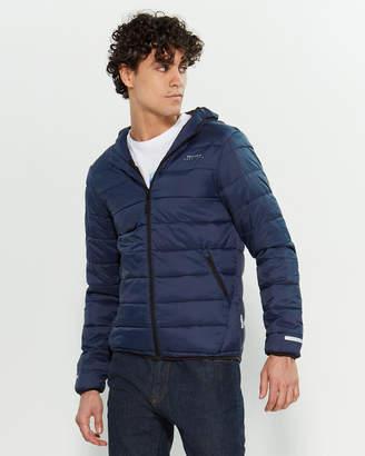 Bellfield Blue Actv Life Puffer Jacket
