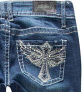ZCO Wing Cross Womens Skinny Jeans