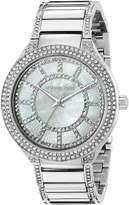 Michael Kors Women's Kerry Silver-Tone Watch MK3311
