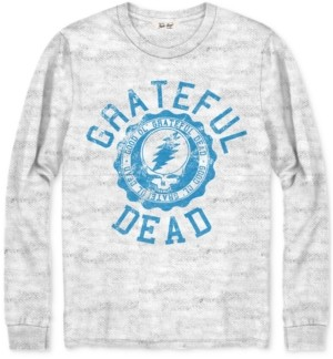 Junk Food Clothing Cotton Grateful Dead Long Sleeve Graphic Tee