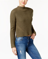 American Rag Textured High-Low Sweater, Created for Macy's