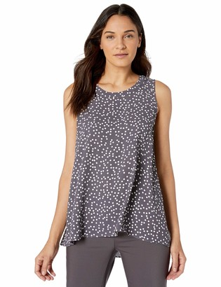 Anne Klein Women's Sleeveless HIGH-Low Blouse