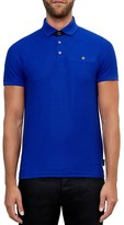 Ted Baker Dino Textured Jersey Regular Fit Polo
