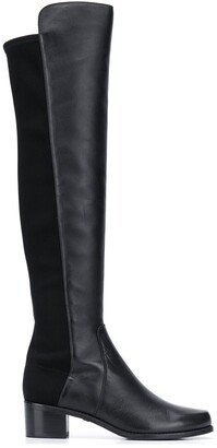 Stuart Weitzman Reserve knee-high leather boots