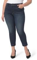 NYDJ Plus Size Women's Alina Release Hem Ankle Jeans