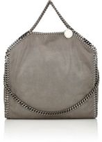 Stella McCartney Women's Falabella Shaggy Deer Foldover Tote-LIGHT GREY