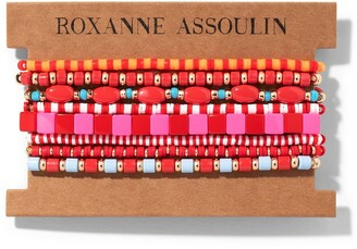 Roxanne Assoulin Color Therapy Red bracelet set