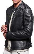 London Craze LondonCraze Men's Leather Jacket 440 L