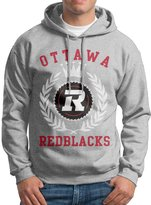 Sarah Men's Ottawa Redblacks Canadian Football Logo Hoodie L