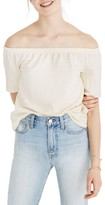 Madewell Women's Off The Shoulder Knit Top