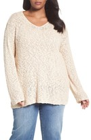 Plus Size Women's Caslon Summer Popover Sweater
