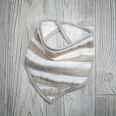 Baby Essentials aden + anais Khaki Stripe Bandana Bib