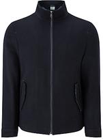John Lewis Wool Blend Harrington Jacket, Navy