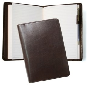 ROYCE New York Royce Executive Writing Journal in Leather