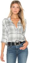 Bella Dahl Whitehaven Flannel Plaid Halle Shirt