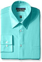 Geoffrey Beene Men's Fitted Micro Chip Sateen Shirt