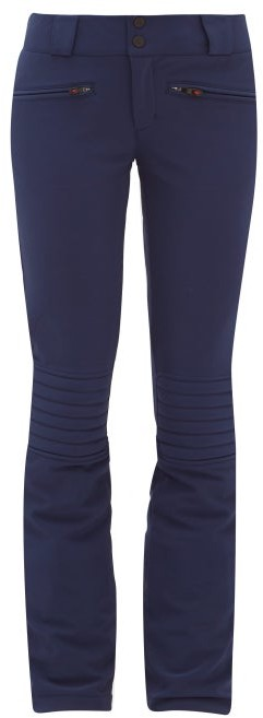 Perfect Moment Aurora Flared Ski Trousers - Womens - Navy