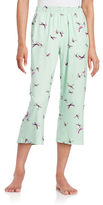 Hue Printed Cropped Pajama Pants