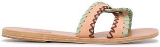 Ancient Greek Sandals Desmos contrast-stitch sliders