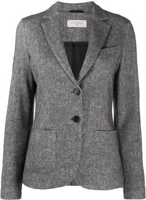 Circolo 1901 Woven Single-Breasted Blazer