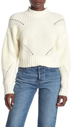 Wild Honey Chunky Knit Turtleneck Sweater