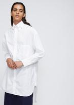 Yohji Yamamoto White Double Collar Shirt