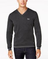 HUGO BOSS Men's V-Neck Sweater