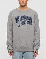 Billionaire Boys Club Woodland Camo Curve Logo Sweatshirt