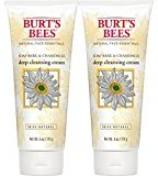 Burt's Bees Soap Bark and Chamomile Deep Cleansing Cream, 12 Ounces Total