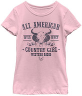 Fifth Sun Pink 'All American Country Girl' Crewneck Tee - Youth