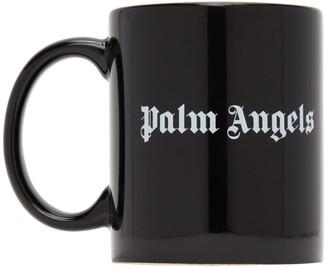 Palm Angels Black Logo Mug