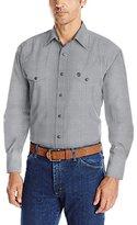 Wrangler Men's George Strait Two Pocket Long Sleeve Snap Woven Shirt