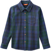 Joe Fresh Kid Boys' Essential Flannel Shirt, JF Midnight Blue (Size S)