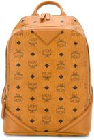 MCM printed backpack - women - Calf Leather - One Size
