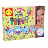 Alex Spa Mix And Make Up Nail Sparkle Kit Beauty Toy