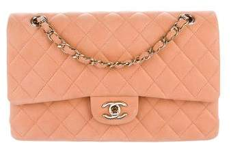 Chanel Iridescent Caviar Quilted Medium Classic Double Flap Bag
