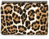 Jimmy Choo 'Cate' clutch - women - Calf Hair - One Size