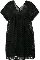 P.A.R.O.S.H. broderie babydoll dress - women - Cotton - M