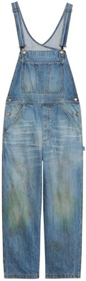 Gucci Eco washed organic denim overall