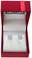 Effy Bouquet 0.93 TCW Diamonds and 14K White Gold Stud Earrings