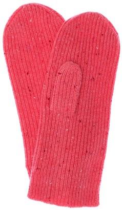 Isabel Marant Chiraz Melange Cashmere Mittens