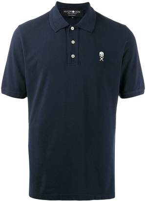 Hydrogen branded polo top