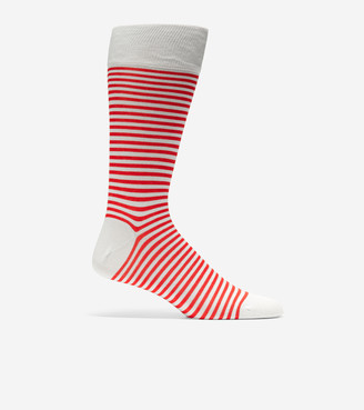 Cole Haan Simple Stripe Crew Socks