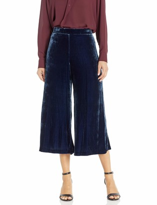 For Love and Liberty Women's Velvet Cropped Pants