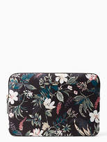 Kate Spade Botanical nylon universal laptop sleeve